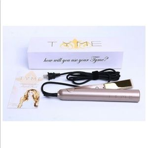 NEW in box! TYME 2-in-1 hair curler & straightener